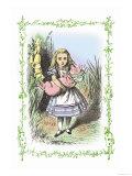 Alice in Wonderland: Alice and the Pig-Baby Arte di Tenniel, John