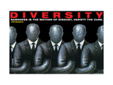 Vielfalt Giclée-Premiumdruck