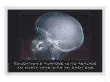 Education for an Empty Mind Kunstdrucke