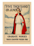 Five Thousand by June Posters by Carl Rakeman