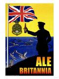 Ale Britannia Premium Giclée-tryk