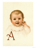 Baby Face A Posters par Ida Waugh