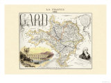 Gard Kunstdrucke von Alexandre Vuillemin