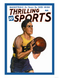 Thrilling Sports: Basketball Posters