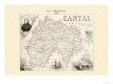 Cantal Kunstdrucke von Alexandre Vuillemin
