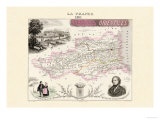 Pyrenees Orientales Kunstdrucke von Alexandre Vuillemin