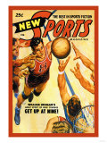 Sports Magazine: Basketball Pôsters