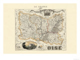 Oise Poster von Alexandre Vuillemin