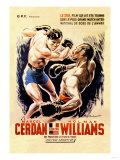 Cerdan vs. Williams Pôsters