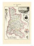 Drome Kunstdruck von Alexandre Vuillemin