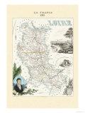 Loire Poster von Alexandre Vuillemin
