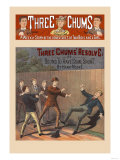 Three Chums' Resolve Posters