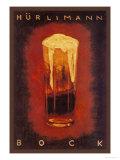 Hurcimann Bock Plakater af Augusto Giacometti