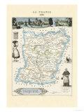 Mayenne Kunstdrucke von Alexandre Vuillemin