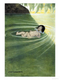 With Nothing On Affiches par Jessie Willcox-Smith