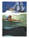 Epave du Covenant Posters par Newell Convers Wyeth