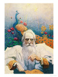 Captain Nemo Affiches par Newell Convers Wyeth
