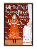 Pate Dentrifice du Docteur Pierre Print by Louis Maurice Boutet De Monvel