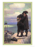 Rescued Posters af Newell Convers Wyeth