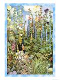 Fleurs Poster par Jessie Willcox-Smith