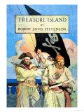 L'Île au trésor Art par Newell Convers Wyeth