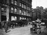 Cabs Outside of Tiffany and Co., New York City Photo