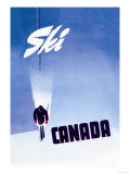 Ski Canada Arte por P. Ewart