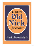 Schutter's Old Nick Affiches