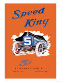 Speed King Affiches