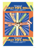 Original Lolly Pops Rolls Poster