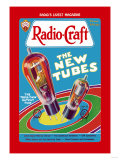 Radio Craft: The Triple-Twin Output Tube Póster