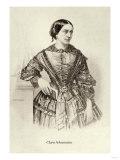 Clara Schumann Poster