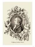 Wolfgang Amadeus Mozart Art