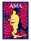 Persian Low Hanging Grapes Poster by Frank Mcintosh