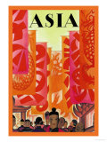 Old China Poster von Frank Mcintosh