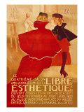 La Libre Esthetique Kunstdrucke von Theodore Van Rysslebergh