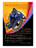 Real Motor Club of Cataluna, 6 Hour Race Poster