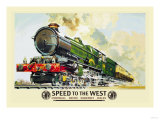 Speed to the West Prints