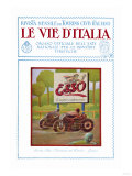 ESSO, The Road of Italy Poster