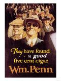 William Penn Cigars Print