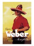 Weber Cigars Poster