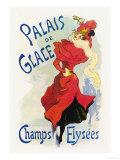 Palais de Glace: Champs Elysees Arte por Jules Chéret