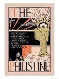 The Philistine Kunst af Dwight Ripley Collin