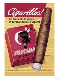 Indiana Cigarillos Print