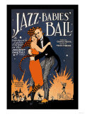 Jazz Babies' Ball ポスター