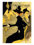 Divan Japonais Posters por Henri de Toulouse-Lautrec