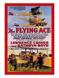 Flying Ace Movie Poster Lámina giclée prémium