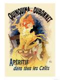 Quinquina Dubonnet Apertif Pôsters por Jules Chéret