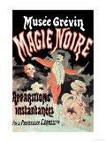 Musee Grevin Magie Noire: Apparitions Instantanees Par le Professeur Carmelli Pósters por Jules Chéret