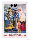 Cupid and E. A. Mele and Co. Poster von Aleardo Villa